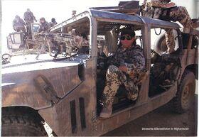 KSK Humvee closeup