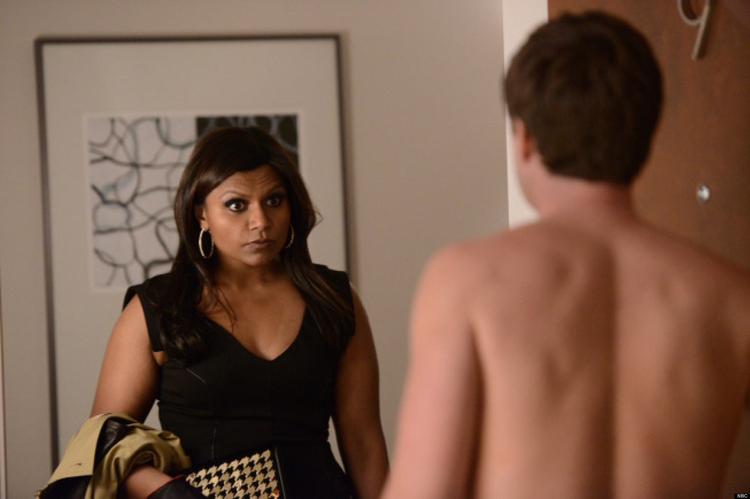 When did mindy and danny start hookup