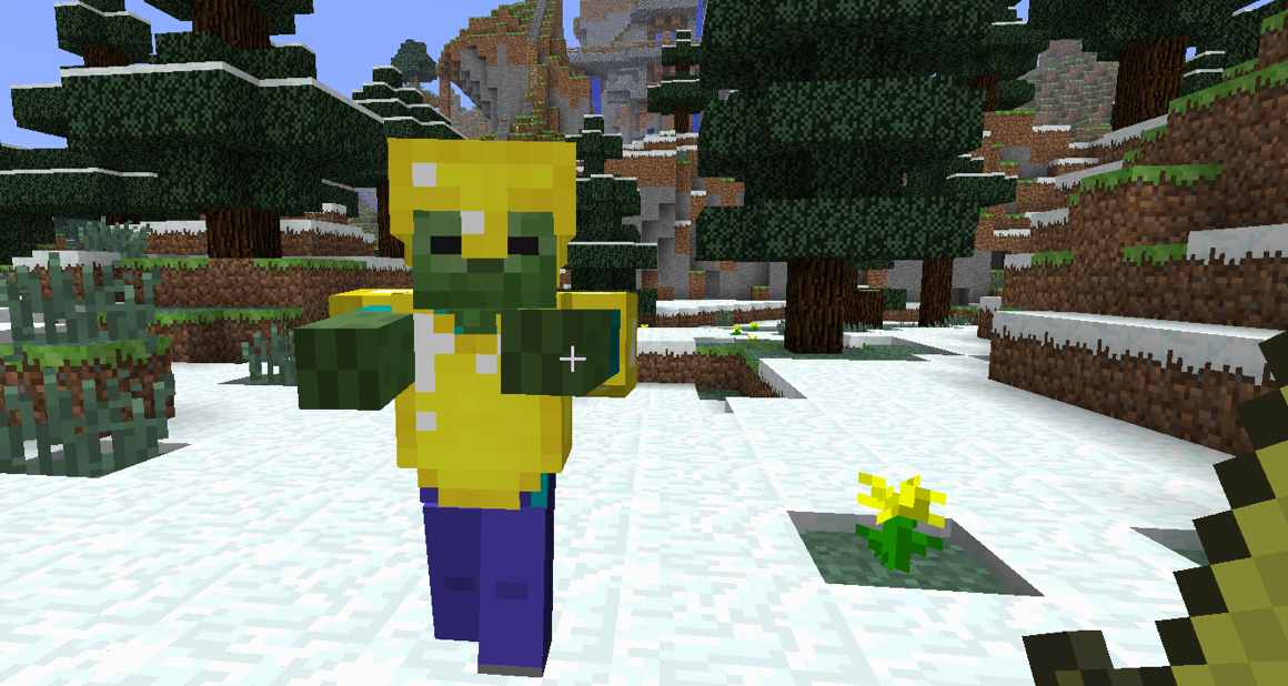 Zombie minecraft wiki fandom powered by wikia - Zombie style minecraft ...