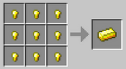 Crafting-gold-ingot