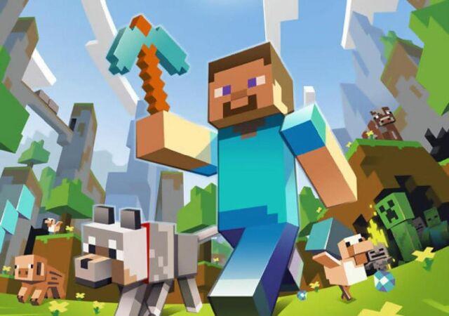 File:Steve and mobs.jpg