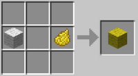 Crafting-yellow-wool