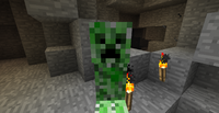 Creeper In Cave