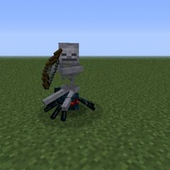 Skeleton-Cave Spider Jockey