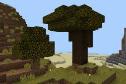 Dark oak tree w oak tree used 4 comp. no gui