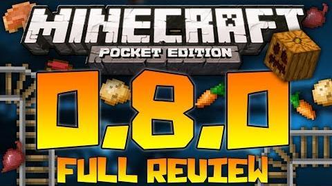 Minecraft Pocket Edition 0.8