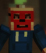 Griefer Red Face Better Quality