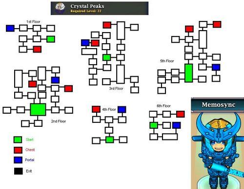 Crystal peaks mini heroes wiki fandom powered by wikia for Floor 2 boss swordburst 2