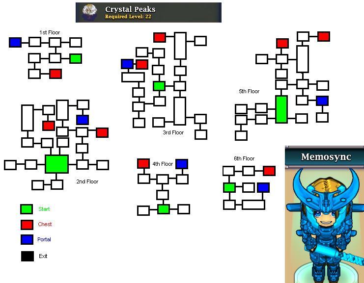 Crystal peaks mini heroes wiki fandom powered by wikia for Floor 4 mini boss map