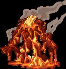Light eruptacus back