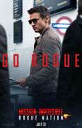 Mission Impossible Rogue Nation poster 4