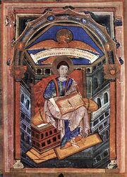 Soissons-Evangeliar, Evangelist Johannes.jpg