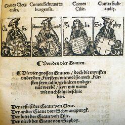 Grafen des HRR by Peter Jordan of Mainz