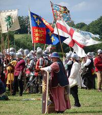 Schlacht von Tewkesbury Reenactment