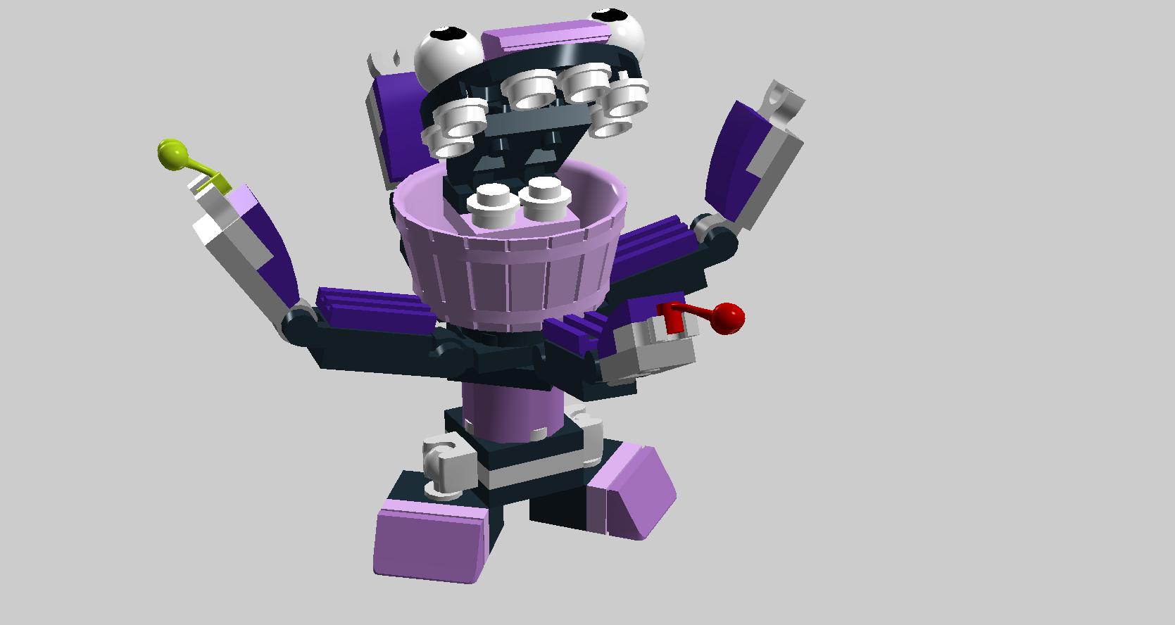 LEGO.com Mixels Explore - Characters - Munchos - Berp