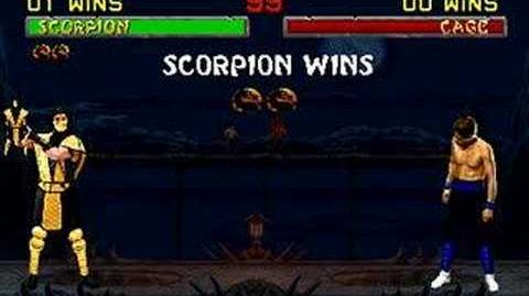 Mortal Kombat II - Friendship - Scorpion