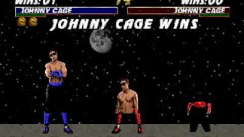 Mortal Kombat Trilogy (N64) - Fatality 1 - Johnny Cage