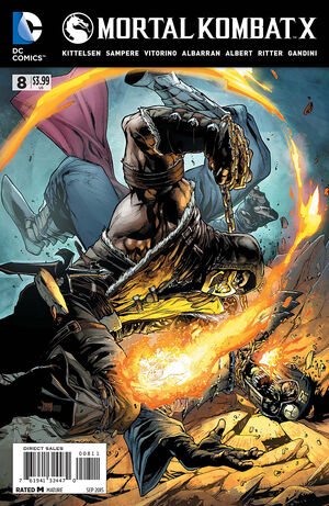 Mortal Kombat X Issue 8 Print Cover