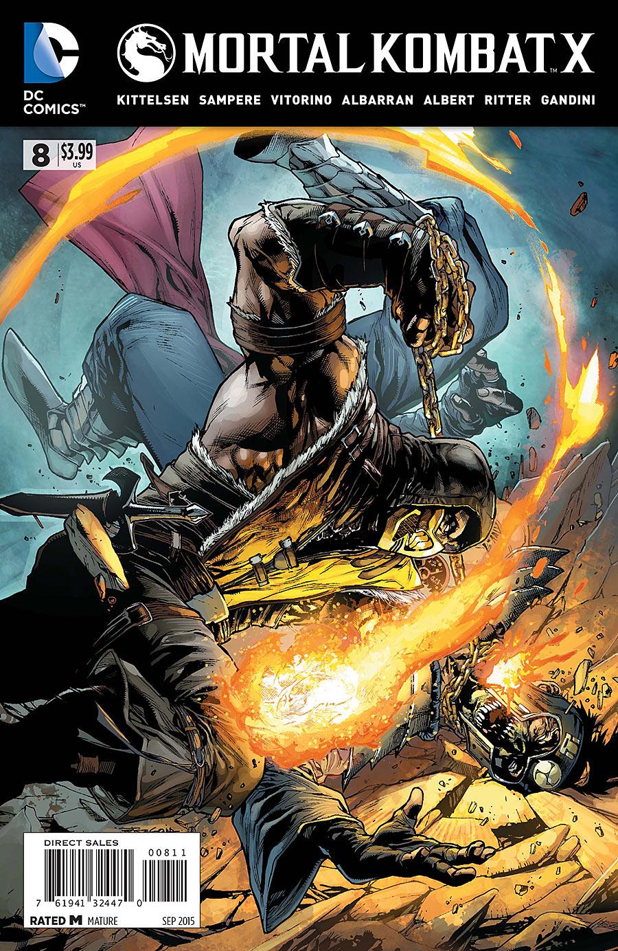 Mortal Kombat Online: Mortal Kombat X Issue 8
