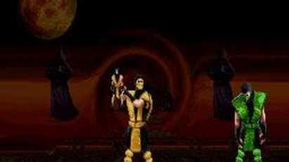 Mortal Kombat II Scorpion Friendship