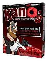Kan-Os Breakfast CerealCutout