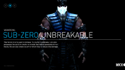 Sub-Zero Unbreakable Variation. A frozen fortress.