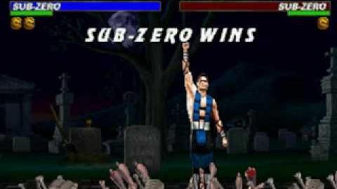 Mortal Kombat Trilogy - Brutality - Sub-Zero