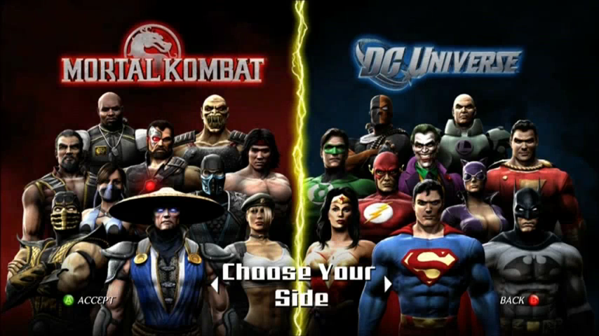 Image Result For Mortal Kombat Vs Dc
