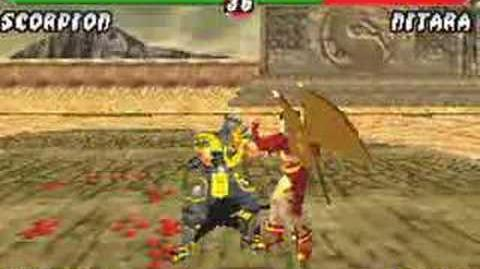 Mortal Kombat Tournament Edition Gameplay (GBA)