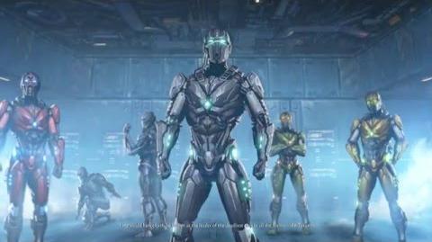 Mortal Kombat X - Triborg Story ENDING 1080p 60fps