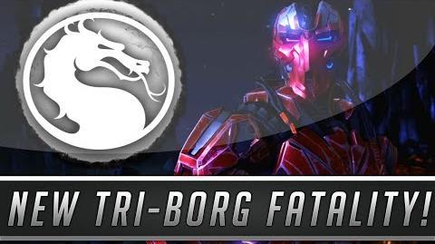 MKX Tri-Borg Death Machine Fatality