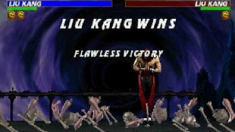 Mortal Kombat Trilogy - Brutality - Liu Kang