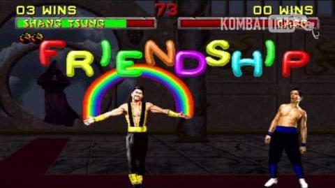 MK II Shang Tsung Friendship