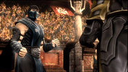 Sub-Zero VS Scorpion Story Mode