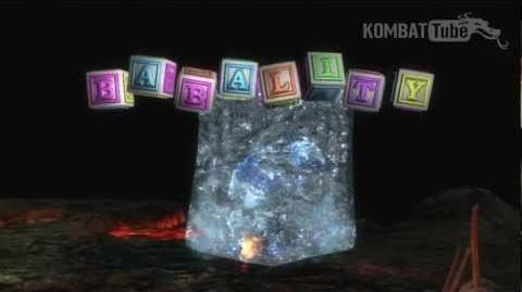 MK9 Cyber Sub-Zero Babality
