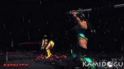 Mortal Kombat Deception Jade's Fatality 2