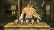 Johnny cage test your sight.