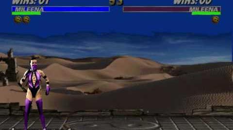 Ultimate Mortal Kombat 3 - Fatality 1 - Mileena