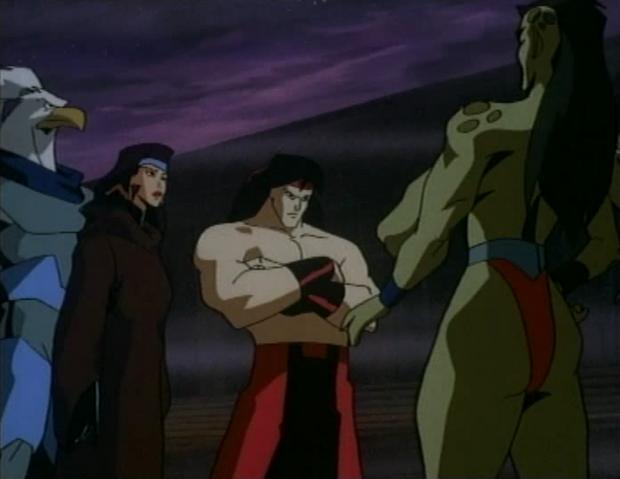 File:Asgarth, Kitana, Liu Kang and Sheeva.PNG
