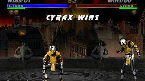 Mortal Kombat 3 - Friendship - Cyrax