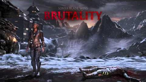 Sonya Brutality 2 - Boot to Head