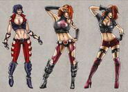 Mortal Kombat Deception Kira Concepts