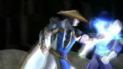 Mortal Kombat VS DC Universe Raiden's Fatality 2