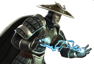 Dark raiden versus