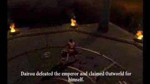 Mortal Kombat Armageddon - Dairou Ending