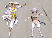 Mortal Kombat Deception Krypt Ashrah Concepts Artwork