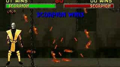 Mortal Kombat II - Fatality 2 - Scorpion-1