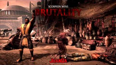 Mortal Kombat X Outworld Marketplace Brutalities