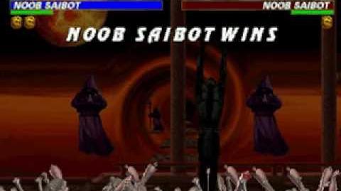 Mortal Kombat Trilogy - Brutality - Noob Saibot