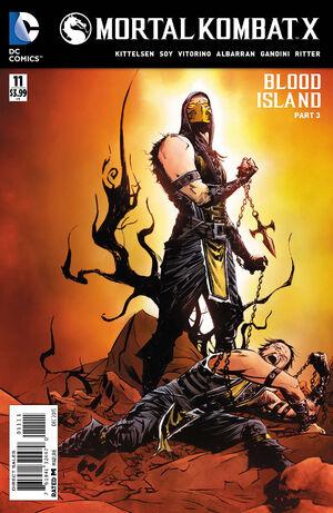 Mortal Kombat X 11 Print Cover